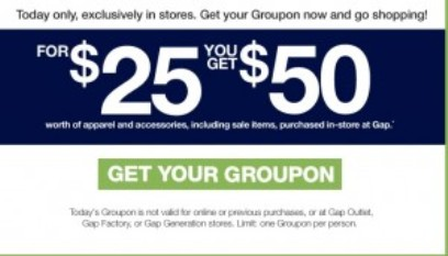 Groupon-coupon